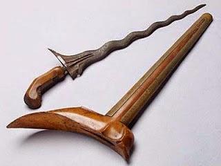 Provinsi Lampung - Senjata Tradisional :Terapang, Pehduk Payan