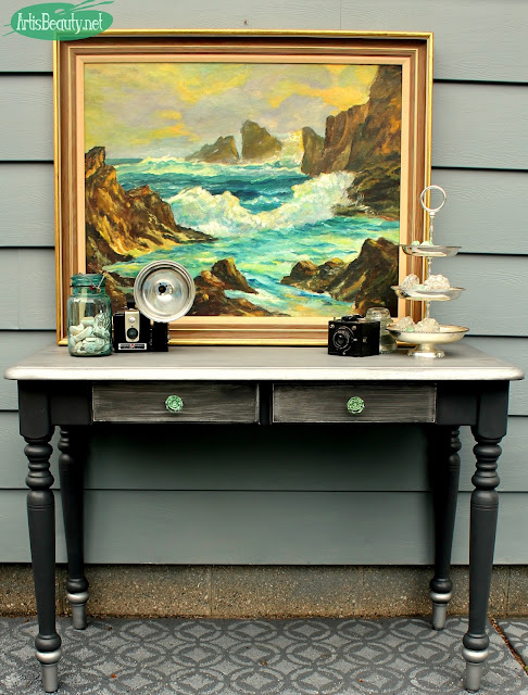 Art is Beauty - Fab Furniture Flippin' Contest