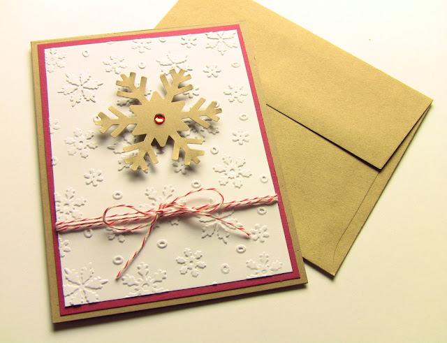 Handmade Christmas Card for Friends