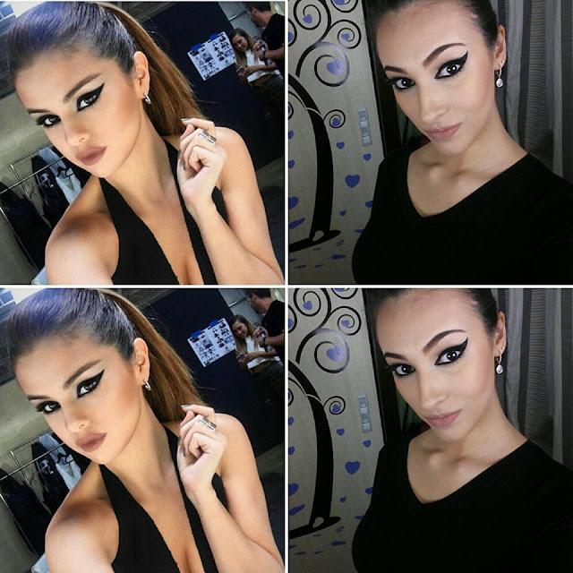 make up, selena gomez, toque retoque blog, erika lots