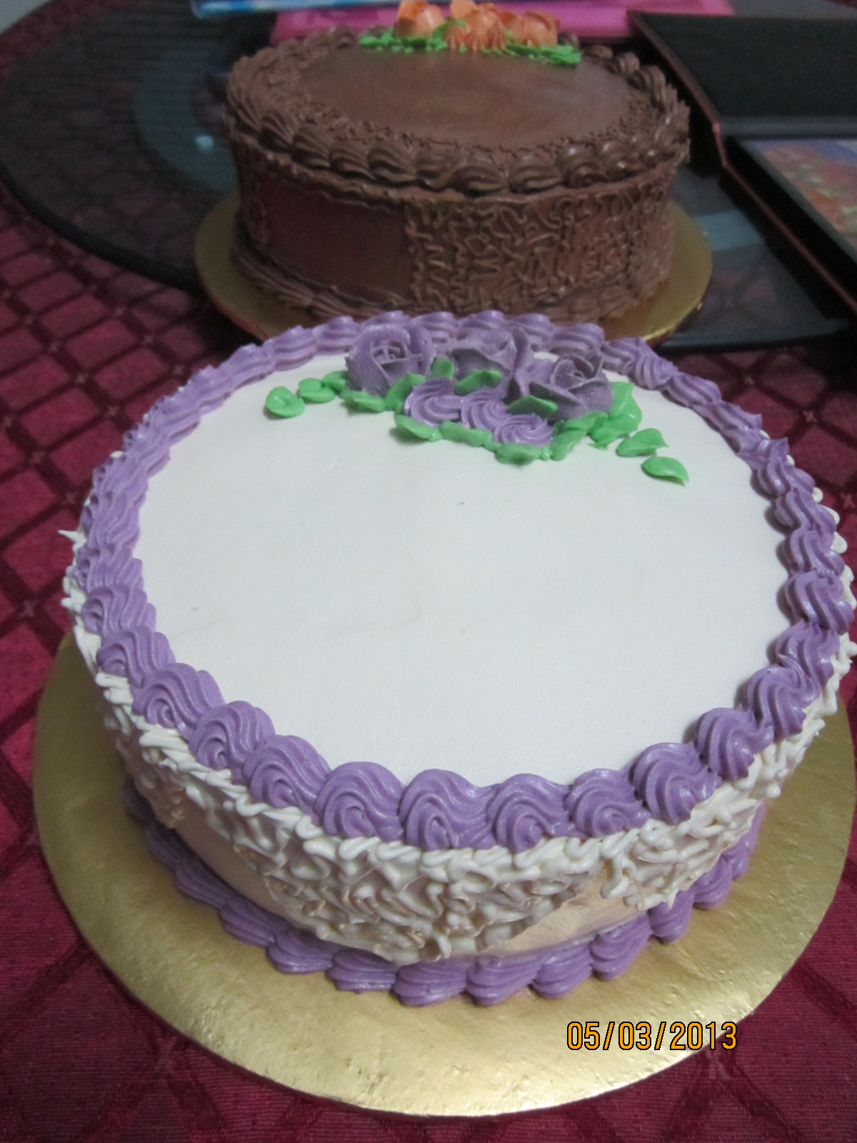 Coffee Marble Cake