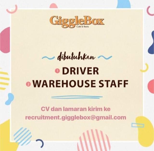 Lowongan Kerja Giggle Box Bandung
