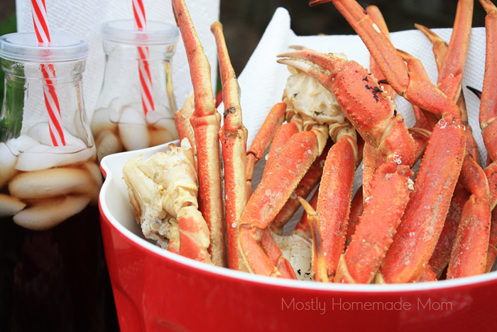 Grilled Crab legs recipe for summer BBQ cook out
