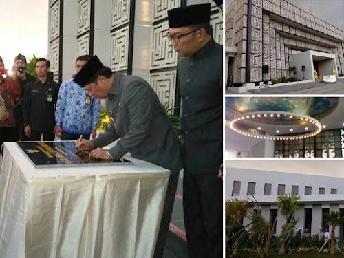 Peresmian Masjid Al Mutazam Cipagalo Bojongsoang