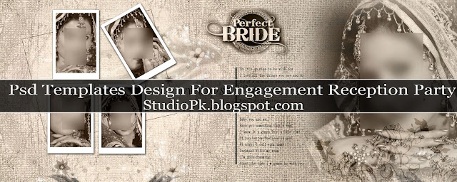 Elegant Wedding Album Design Psd Templates