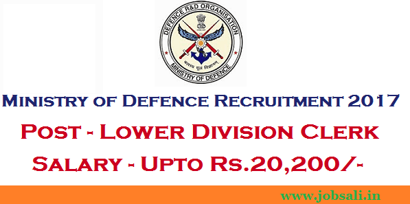 LDC Recruitment, 12th pass Govt jobs, defence jobs in india