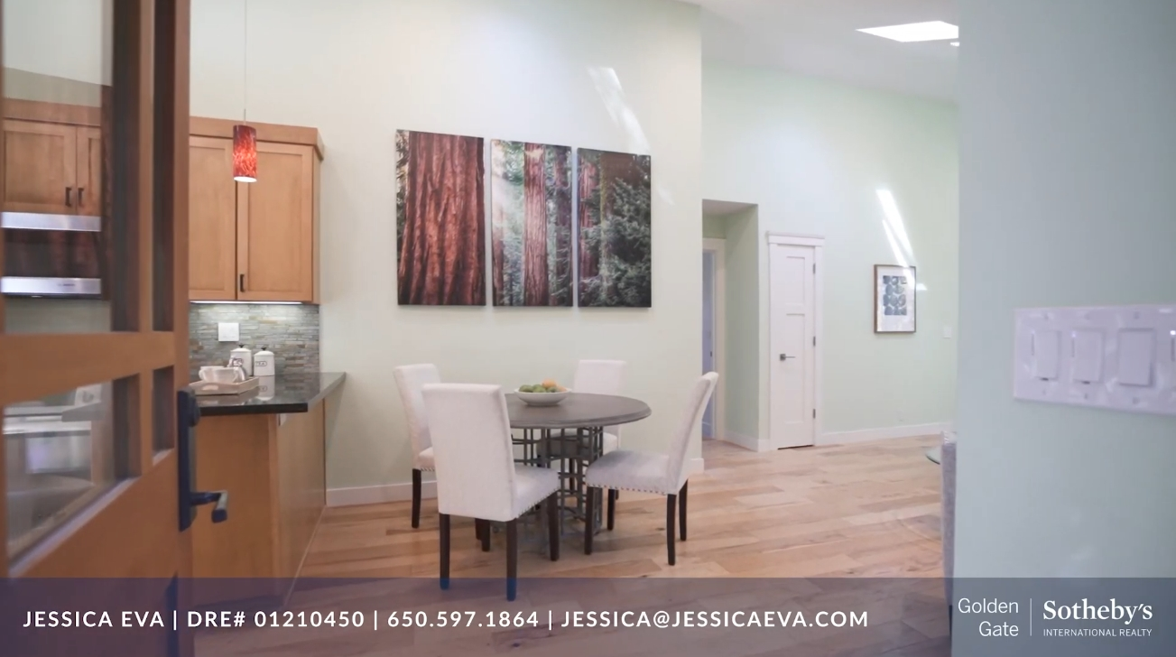 Home Interior Design Tour vs. 1975 Cordilleras Rd Redwood City CA | Redwood City Homes for Sale