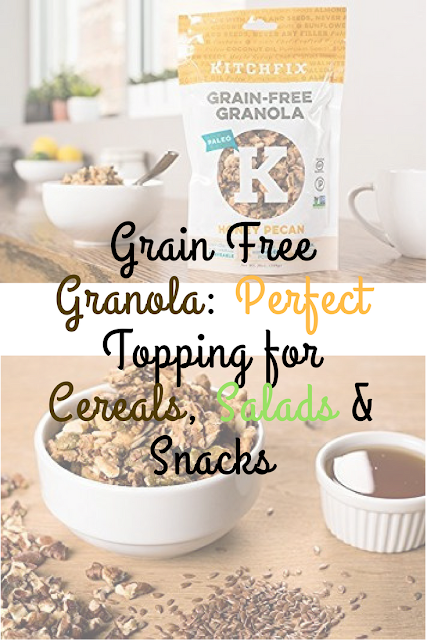 grain free granola cereal toppings