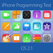 Upwork IPHONE PROGRAMMING OS 2.1 TEST 2016