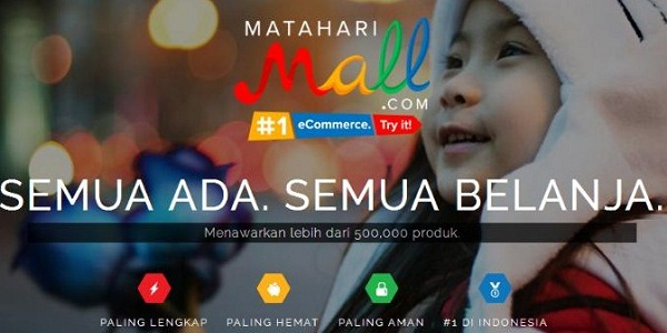 MATAHARI MALL DOT COM : GENERAL IT SUPPORT, WEB DESAIGNER DAN SENIOR PHP - INDONESIA