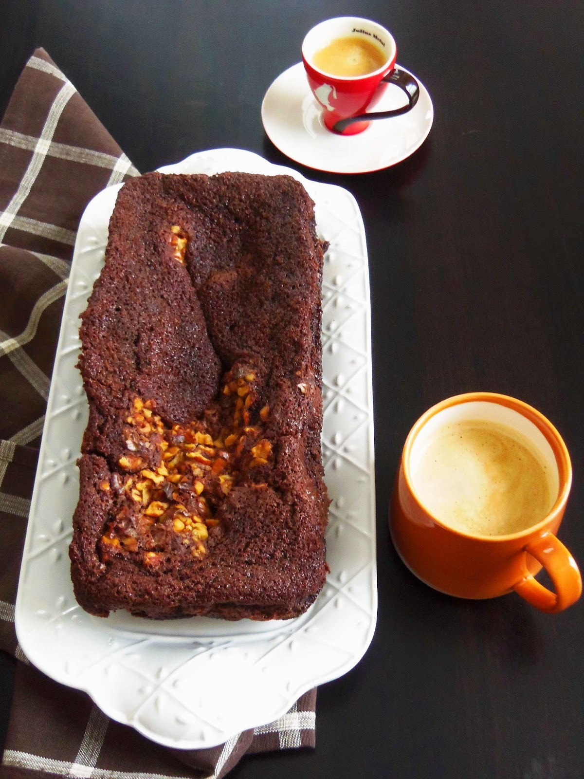 Simply Romanesco Chocolate Loaf Cake