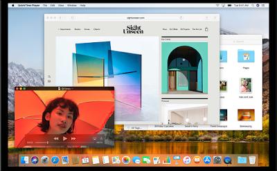 آبل تطلق النسخة الأحدث من نظام MacOS