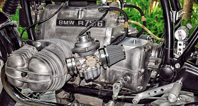 Cafe Racer Engine