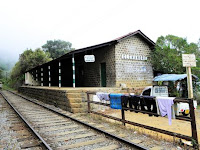 Glenanore, a well preserved plantation railway siding in Sri Lanka