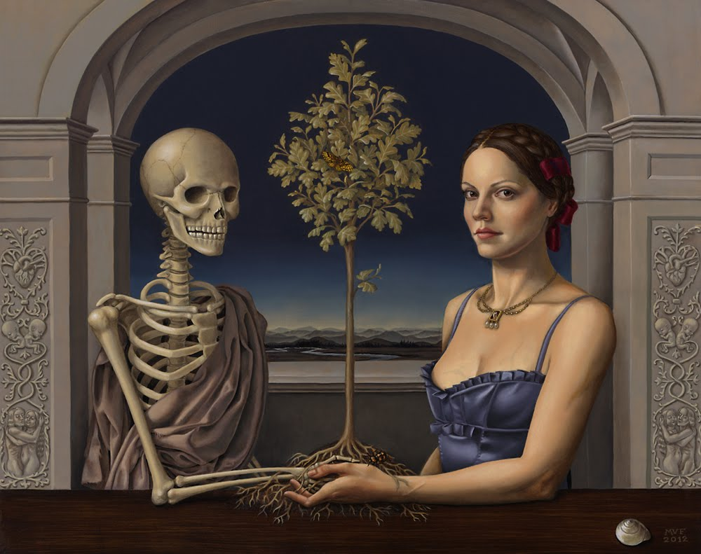 """Death and the Maiden"" Group Show @ Roq la Rue Gallery 