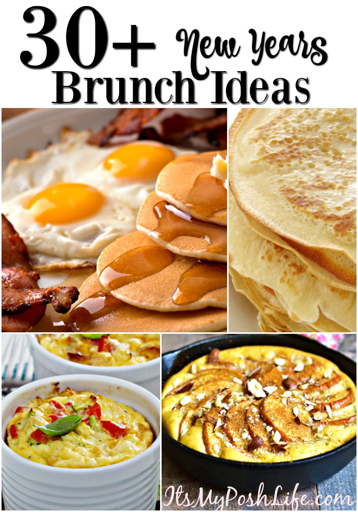30+ New Years Brunch Recipes