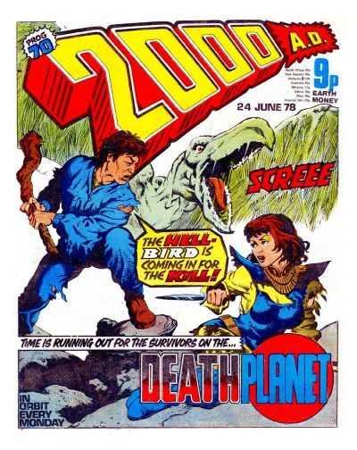 2000 AD Prog 70, Death Planet