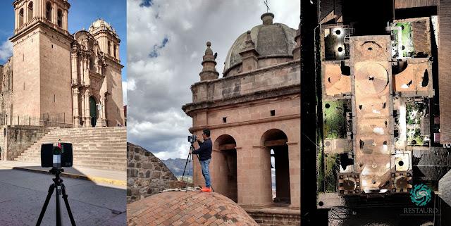 Restauro sac_Templo de Belén-Cusco_JRC 3D Reconstructor_Survey activities and 3d point cloud model