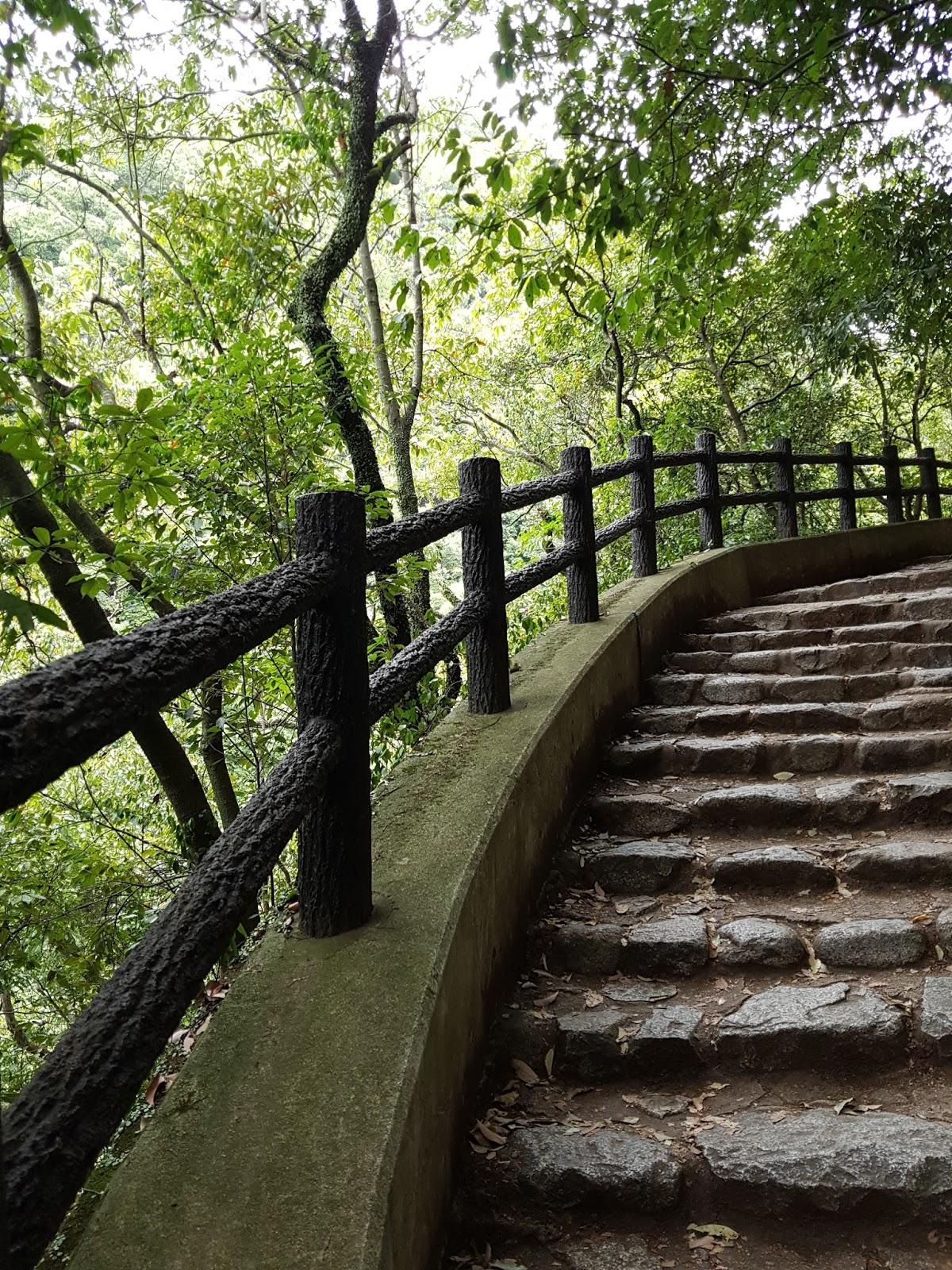 Kobe Nunobiki Falls Staircase