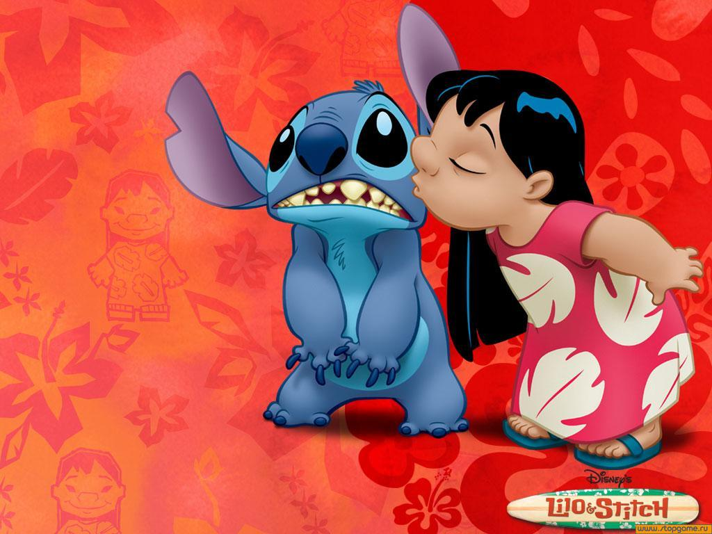 Walt Disney Lilo & Stitch Animated Cartoon Characters Pictures
