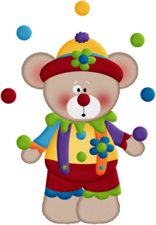 Bears of the Circus Clipart.