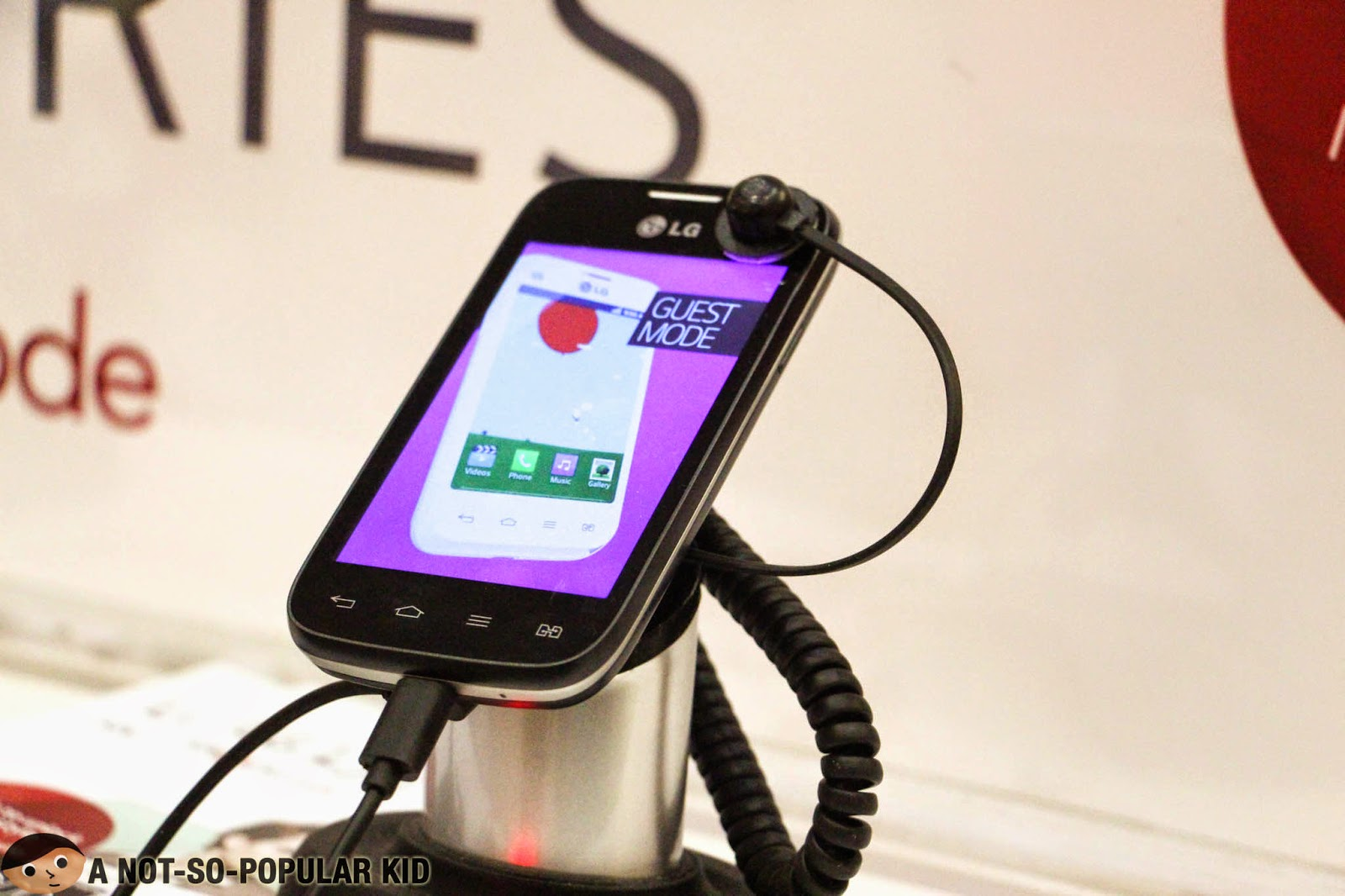 The LG L40 of the newest LSeries III