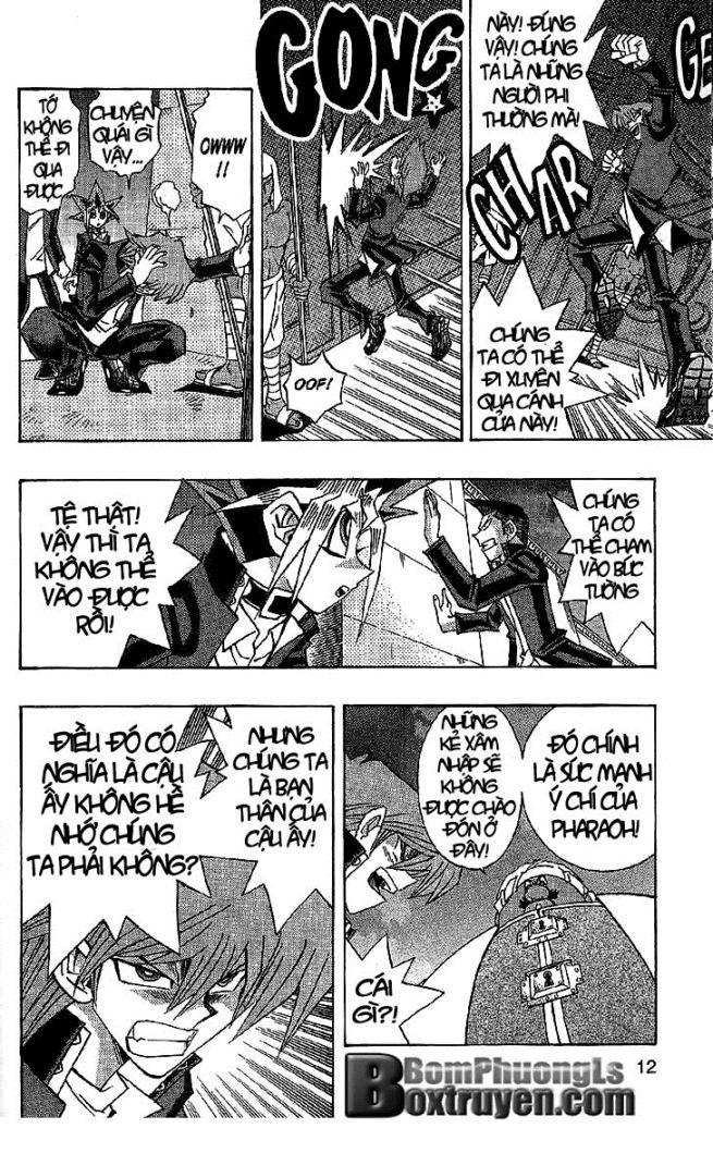 YUGI-OH! chap 297 - vua trộm bakura vẫn sống trang 6
