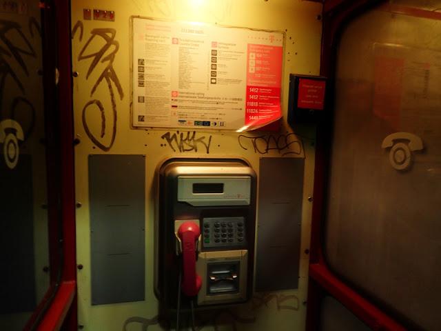 Budka telefoniczna w Budapeszcie