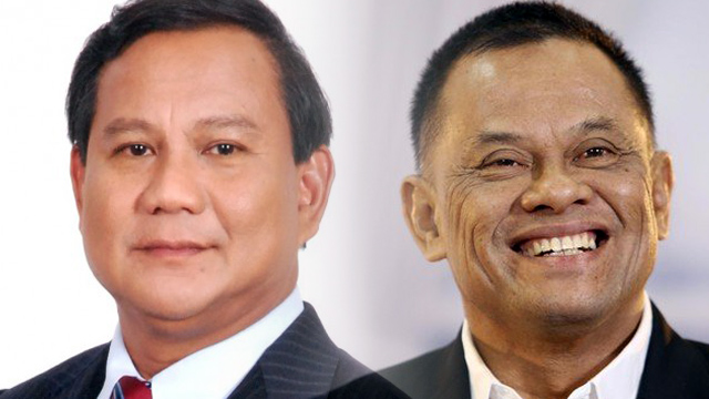 Prabowo Senang Jika Gatot Nurmantyo Bergabung