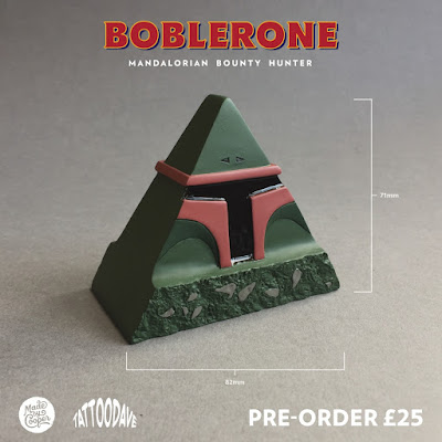 "Star Wars ""Boblerone"" Boba Fett Resin Figure by Tattoo Dave"