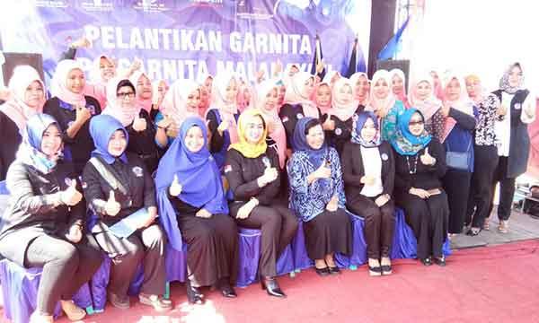 garda wanita nasdem kabupaten cirebon dilantik
