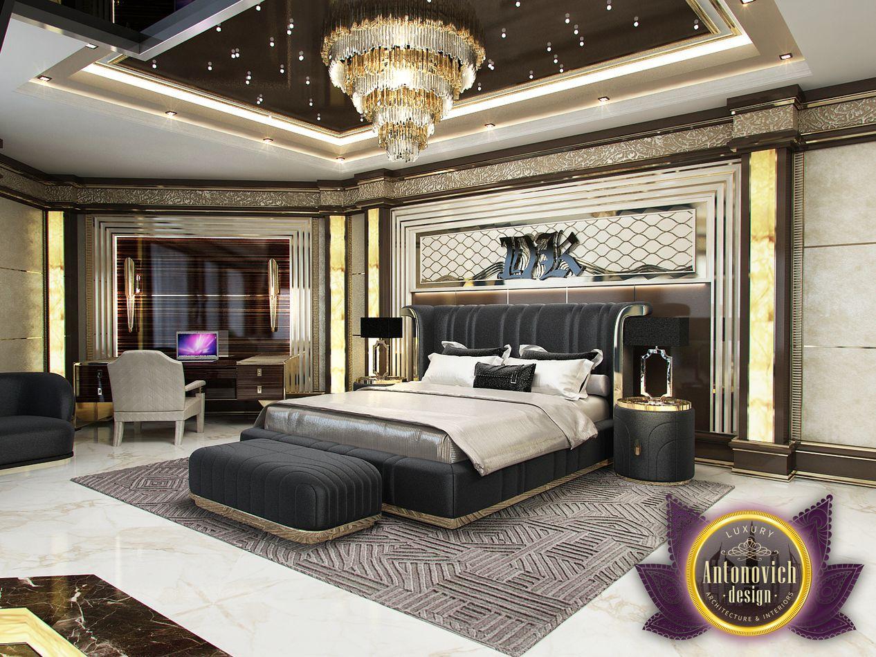 LUXURY ANTONOVICH DESIGN UAE: Master Bedroom From Luxury