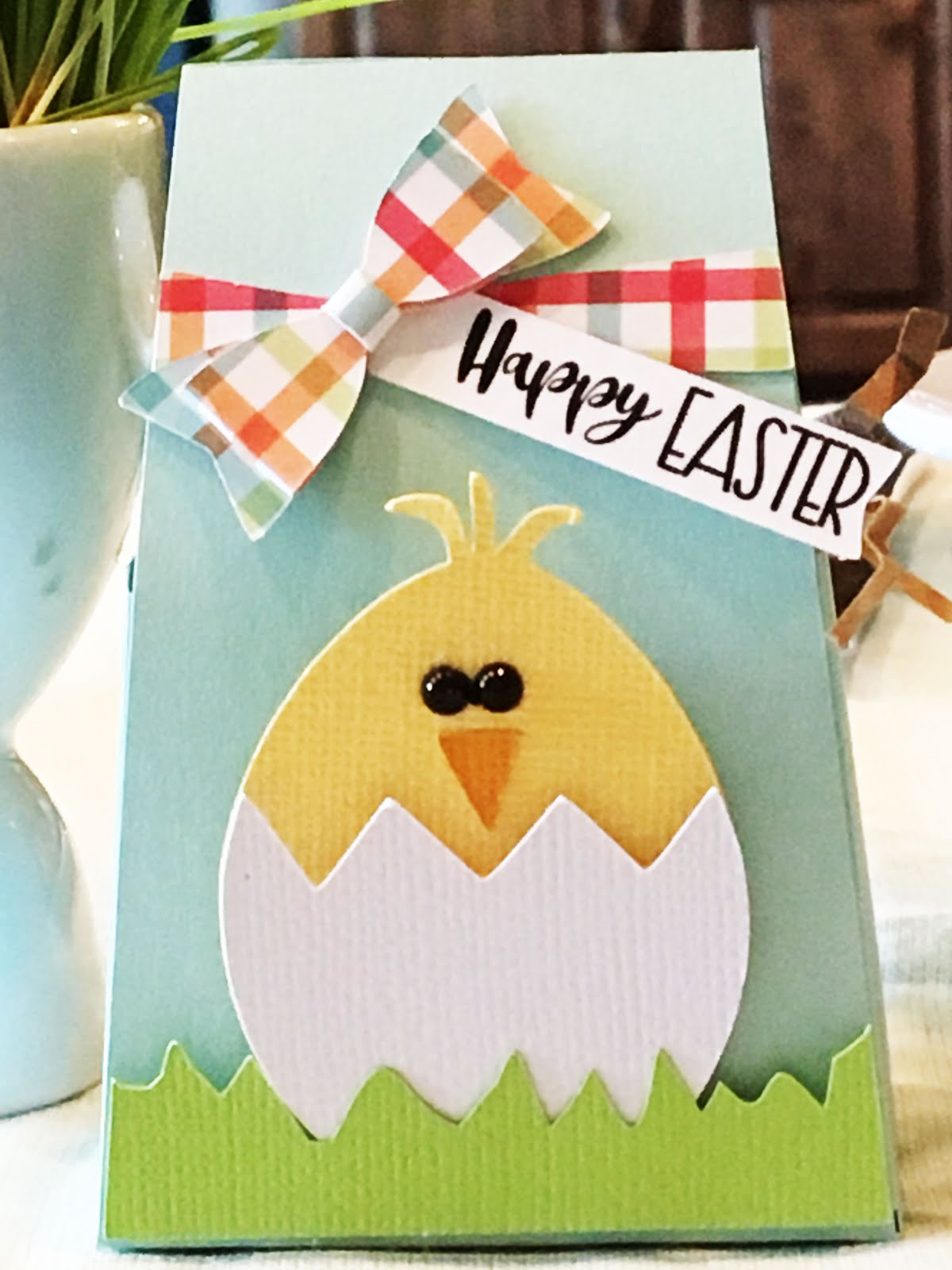 Blue Easter Chick Treat Box
