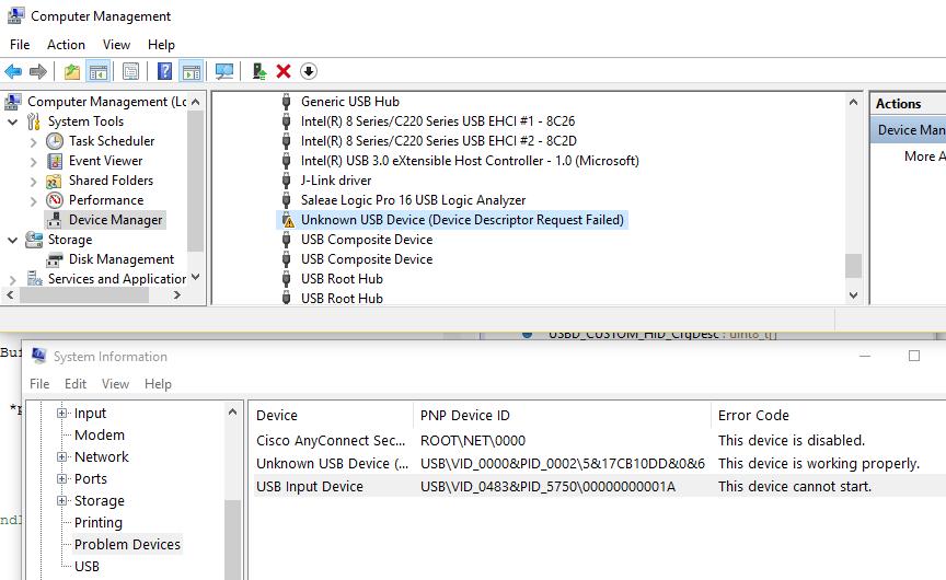 Henry Choi: USB HID on STM32F042