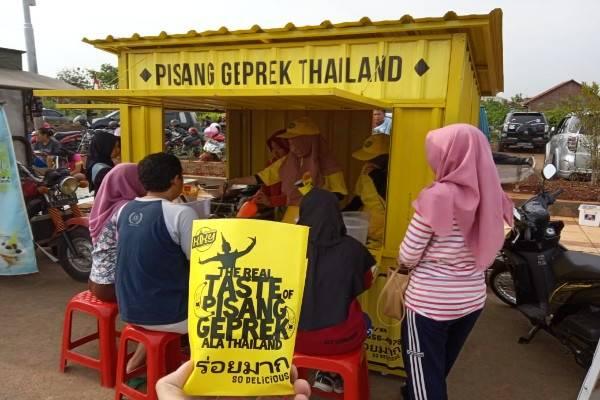 Waralaba Pisang Geprek Thailand (bisnis.com)