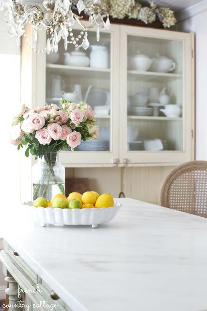 Elegant Marble Countertops.