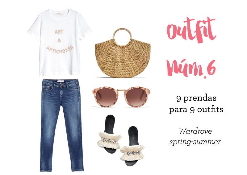 outfit verano ideas para vestir en primavera verano roba básico fondo de armario