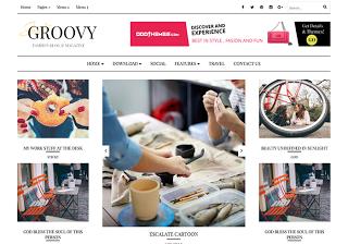 Groovy Blogspot Template