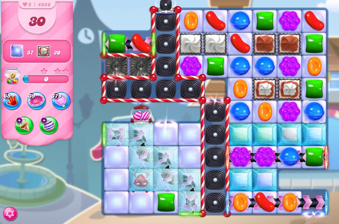 Candy Crush Saga level 4858