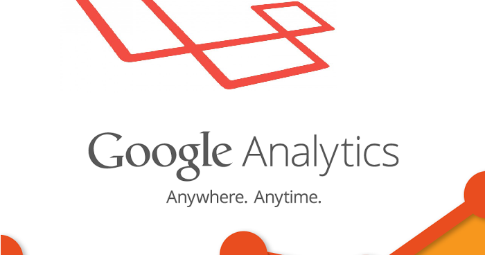 Laravel and google analytics