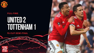 Manchester United vs Tottenham Hotspur 2-1 Video Gol Highlights