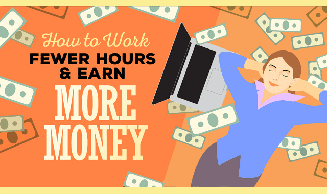 How to Work Fewer Hours & Earn More Money