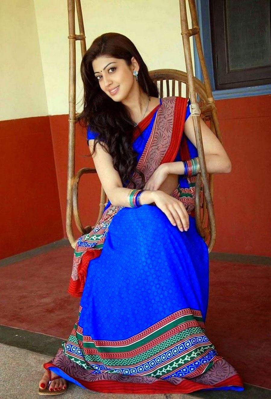 Actress Hd Gallery Pranitha Subhash Latest Cute Saree Hot -6094