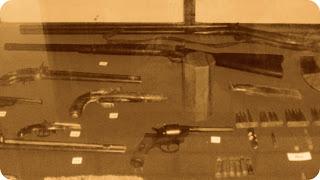 Armas do Museu Waldemar dos Santos Boeira, em São José dos Ausentes