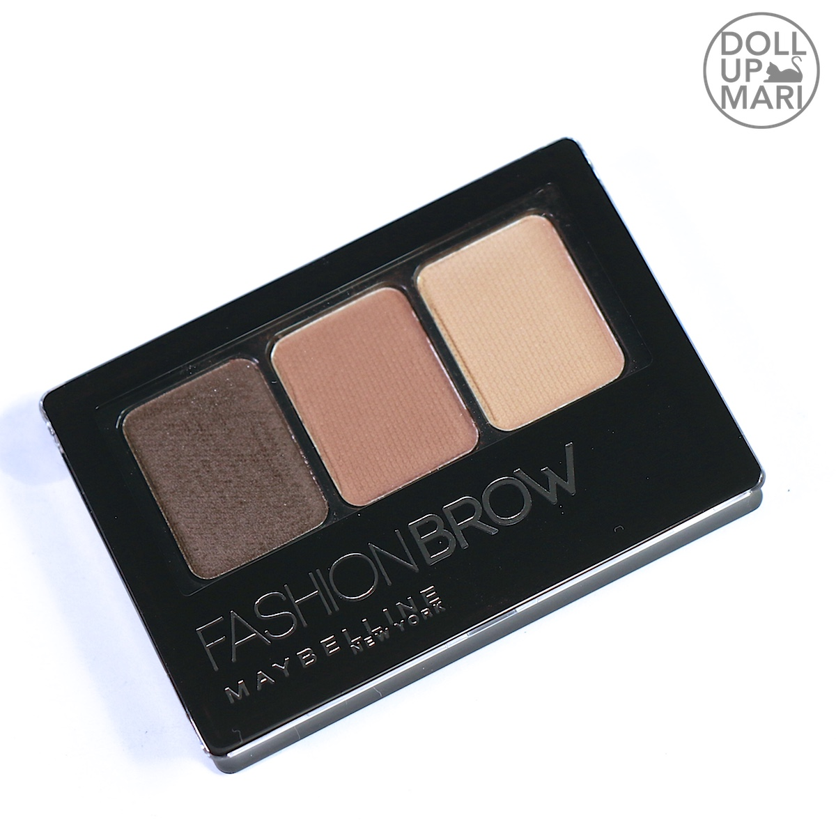 b23533a333e Maybelline Fashion Brow Palette (Dark Brown) Review and Swatches ...