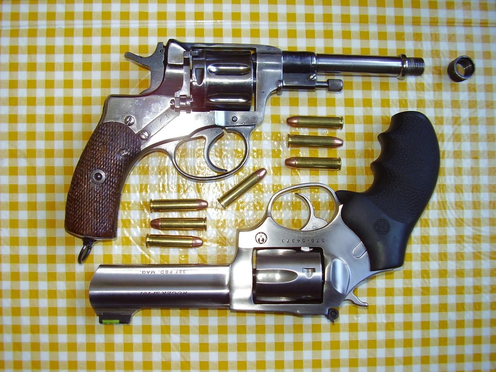 on target shooter nz: Nagant Alternative Revolver For 327