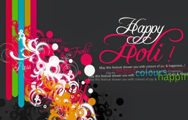 Holi Wishes Messages SMS With Images