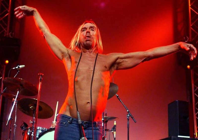 Critical Mass Music News Iggy Pop Breaks FootPostpones