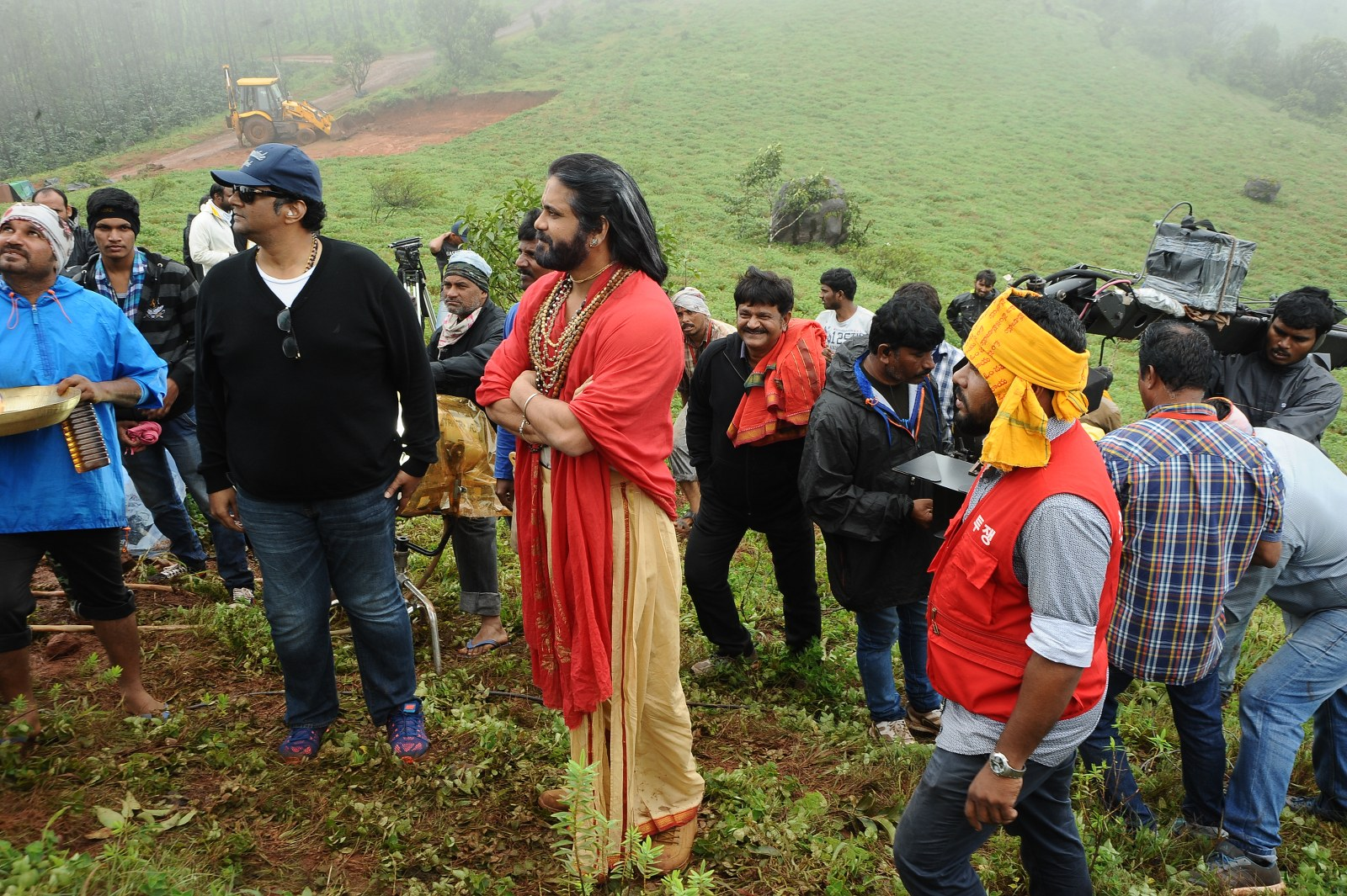 om namo venkatesaya working stills-HQ-Photo-8