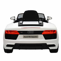 junior hr99858 audi r8 spyder battery-powered toy car